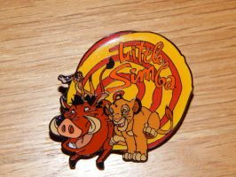 Lion King 'Little Simba' Pin by OliveTree2