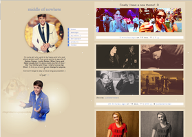 new theme on tumblr by LemiDovatoTeam
