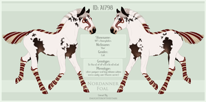 A1798 Nordanner Foal Design by WFS-Nordanners