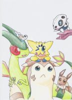 Day 5 Joltik (and others!) by AverageGuardLucas