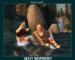 Heavy Weaponsguy by RadioactiveNemofish