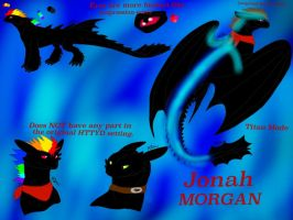 Reference Sheet: Jonah the Night Fury by BlackDragon-Studios
