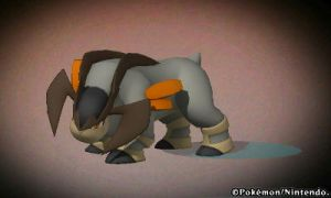 Pokedex 3d - Terrakion