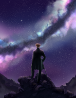 Wanderer in the Sea of Stars by AngieMyst