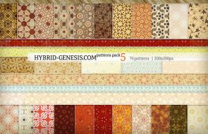 HG Photoshop Patterns Pack 5 by In5omn1ac