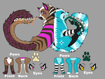 Tailmouth Adopts Batch 2 :CLOSED: by StoneWarrior-101
