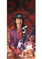Stevie Ray Vaughan by JohnHLynch