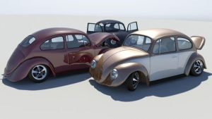 3D VW Beetle Part 3 by kakarottt