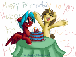 Happy Birthday, Max! by waterbottleisland