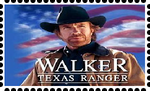 Walker Texas Ranger Stamp by WOLFBLADE111