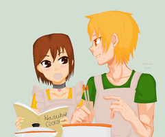 cooking by mismess-pixels