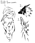 Bored, have some Jolteon Tattoo's =P by Trakker