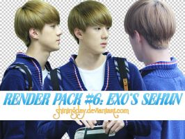 Render pack #6: EXO's Sehun by shiningday