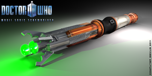 Mk.VII Sonic Screwdriver Open by ComputerGenius