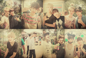 Disneyland with EXO by lastfera