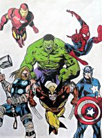 The Avengers by IdusMartius