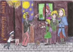 aph: Happy Halloween!! by LoveEmerald