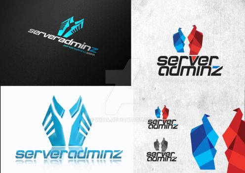 Server Administration Company - logo concepts by l by wiz24