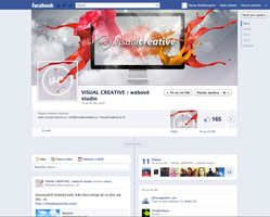 Facebook page by Visual-Creative