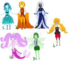 [OPEN] Adventure Time Adoptables [CLOSED] by ValentineError