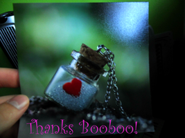 Thanks Booboo! (lieveheersbeestje) :) by Nature-And-Beyond