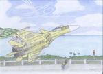Tribute to Ace Combat 4: Emblazoned in Yellow by caiobrazil
