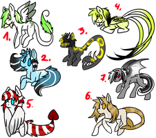 Pony adopts 1 ALL TAKEN by That-Alcoholic-Cat