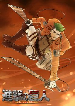 Jacksepticeye | Attack On Titan by Spoonycorn