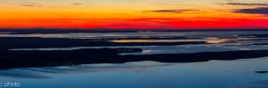 Another evening over Adriatic by ivancoric