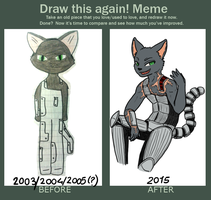 Before and After Meme by ChibiCorporation