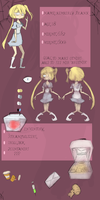 Walking City Reference sheet 1 Kimmy by Carford101