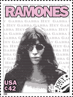 Ramones Stamps: Joey by exfish