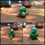 Baby Tidehunter? Polymer Clay by Sajedene