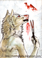 ACEO: Hurting the Paper by Tuonenkalla