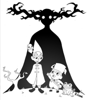 Over the Garden Wall by rongs1234