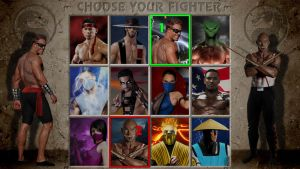 MKII - Selection Screen in HD by molim