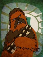 Chewbacca by JoJo-Seames
