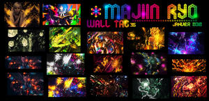 wall tag Janvier 2012 by x-Majiin