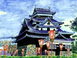 Matsue Castle by David-c2011