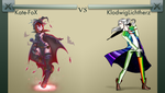 Kate-FoX VS KlodwigLichtherz by dominateplz