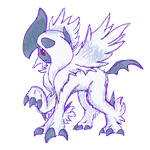 Pokemon X/Y: Mega Absol Sketch by RadSpyro