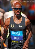 Mo In The Bupa 10K London. by andy-j-s