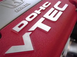 Red DOHC VTEC by DubUilly