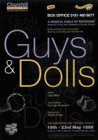 Guys and Dolls poster 2 by legley
