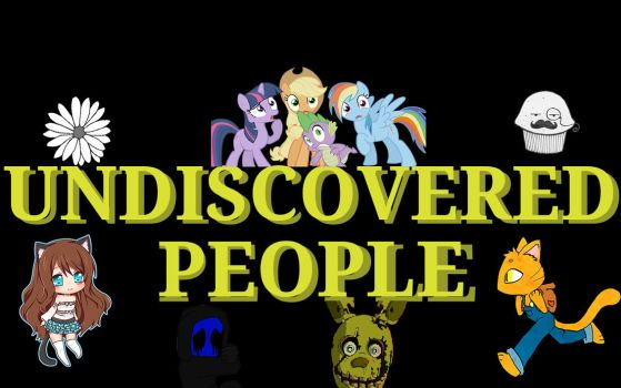 Logo  no.1 for Undiscovered People by Blackbaron250