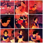 Snow White and The 7 Dwarfs collage by SweetHea