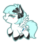 Art Trade: Minty Bow by Jyllah