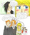 fmab spoilers - wedding crash by sashimigirl92