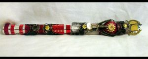 Custom Sonic Screwdriver by EruwaedhielElleth
