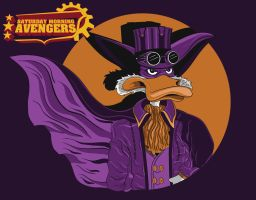 Steampunk Darkwing Duck by MitchLudwig